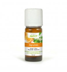 "Mélange Huiles Essentielles Pures ""Agrumes"" - DIRECT NATURE - 10 ml"
