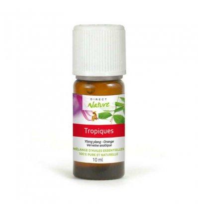 """Mélange Huiles Essentielles Naturelles """"Tropiques"""" - DIRECT NATURE - 10 ml"""