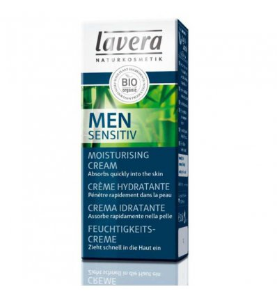 Crème Hydratante Homme Men Sensitiv - LAVERA