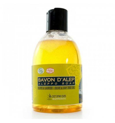 Savon d'Alep Liquide Bio - 300 ml - KARAWAN Authentic