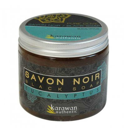 Savon Noir Eucalyptus Bio - KARAWAN Authentic