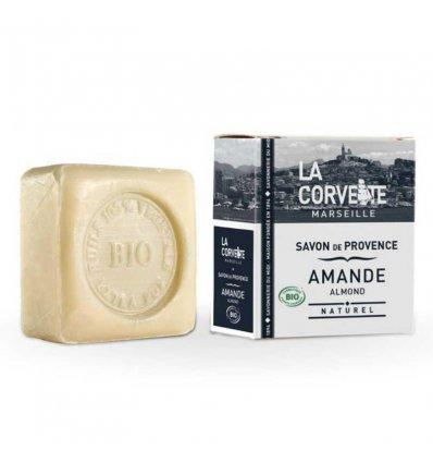 Savon de Provence à l'Amande Bio - LA CORVETTE
