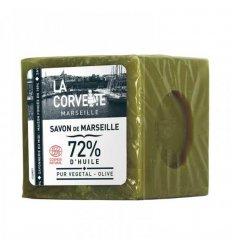 Cube Savon de Marseille Olive - LA CORVETTE