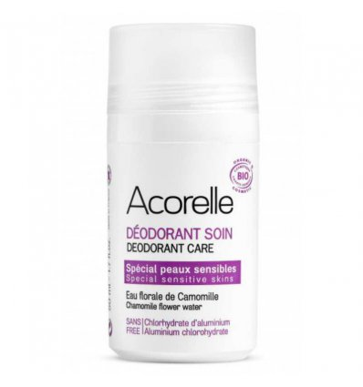 Déodorant Bio Peau Sensible - Roll On - ACORELLE