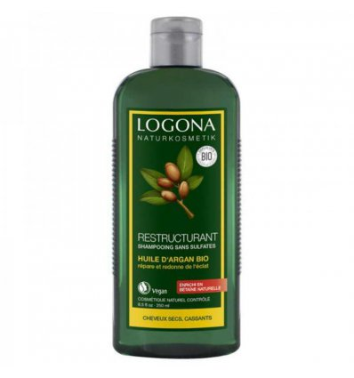 Shampooing Huile d'Argan Bio Restructurant - LOGONA