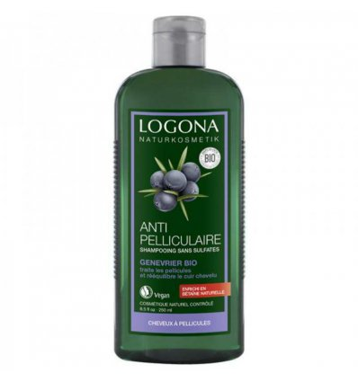 Shampoing Anti-Pelliculaire Genévrier Bio - LOGONA
