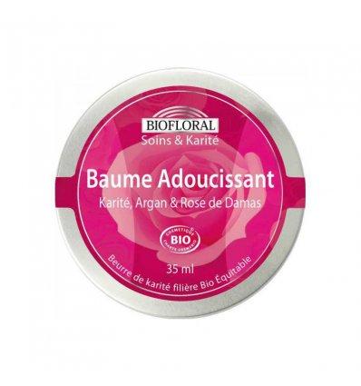 Baume Hydratant Argan, Karité et Rose de Damas - BIOFLORAL