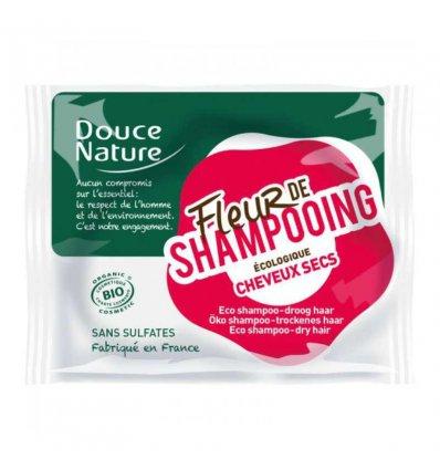 Fleur de Shampoing Bio - Cheveux Secs - DOUCE NATURE