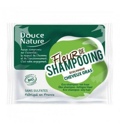 Fleur de Shampoing Bio Cheveux Gras - DOUCE NATURE