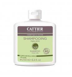 Shampooing Cuir Chevelu Gras - Argile Verte Bio - CATTIER