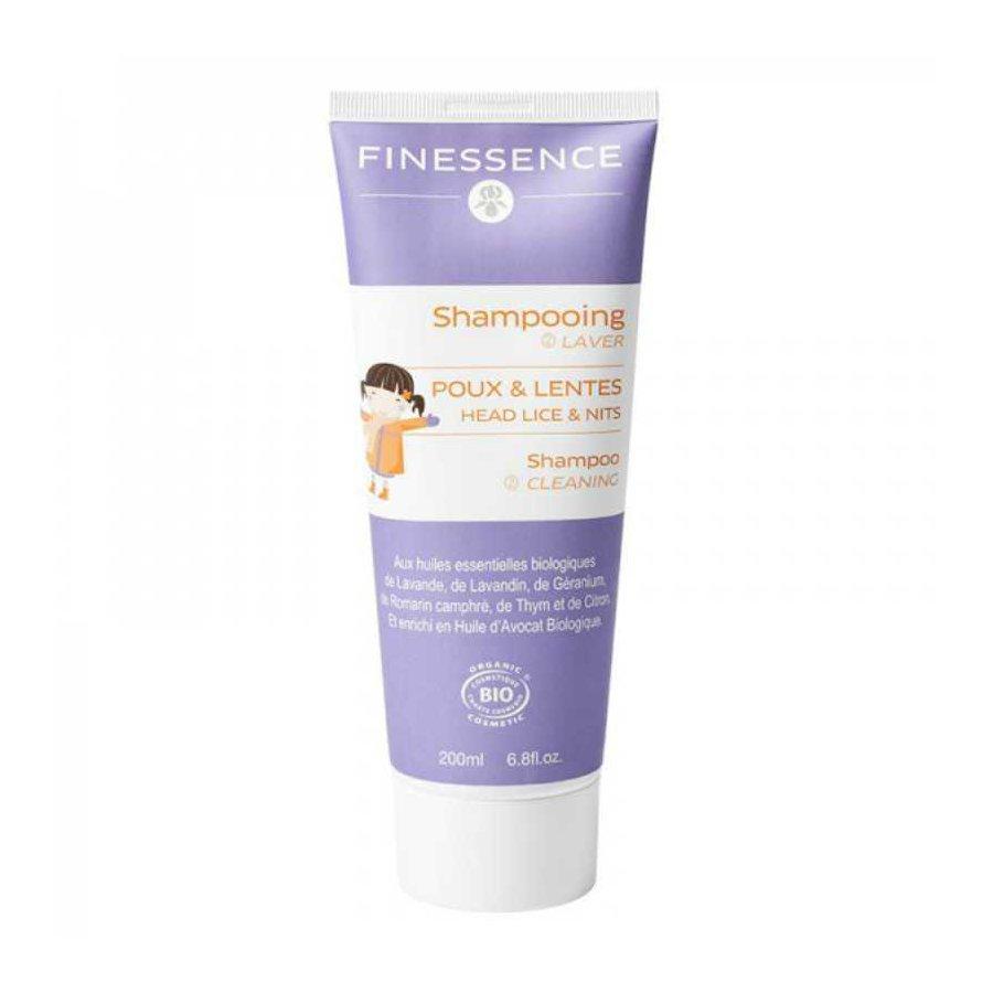 shampoing anti poux bio finessence