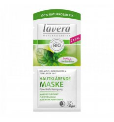 Masque Purifiant Peau Grasse Menthe Bio - LAVERA