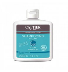 Shampoing Volume Bio Sans Sulfates Cheveux Fins -CATTIER