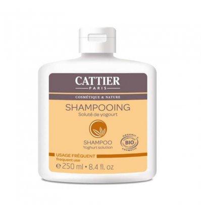Shampoing Voluté au Yogourt Bio - Usage Fréquent - CATTIER
