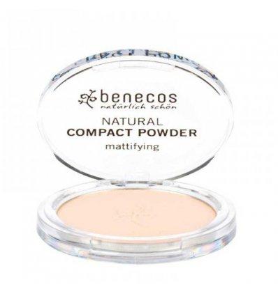 Poudre Compacte Bio - Clair - BENECOS