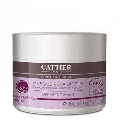 Masque Capillaire Régénérant Bio - Cheveux Secs - CATTIER