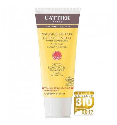 Masque Détox Cuir Chevelu Avant-Shampoing - CATTIER