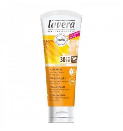 Crème Solaire Peau Sensible SPF 30 Bio - LAVERA