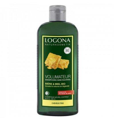 Shampooing Volumateur Cheveux Fins Bière & Miel Bio - LOGONA