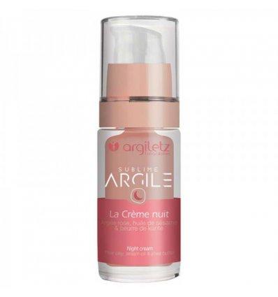 Crème Nuit Argile Rose - ARGILETZ
