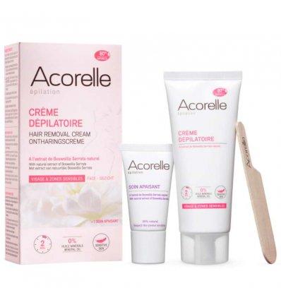 Crème Dépilatoire Maillot Visage Aisselles - ACORELLE