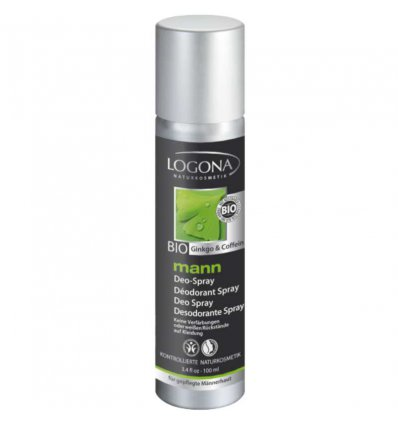 Déodorant Spray Bio Homme Bio - Logona Mann