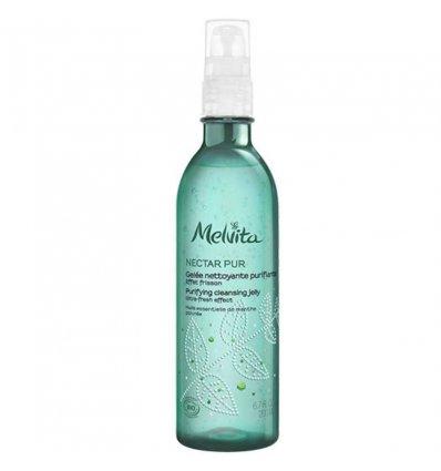 Gelée Nettoyante Purifiante Bio - MELVITA Nectar Pur