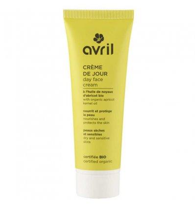 Crème de Jour Bio Huile Noyaux Abricot - AVRIL
