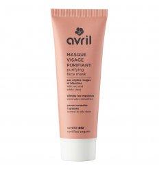 Masque Visage Purifiant Bio - Peaux Normales à Grasses - AVRIL
