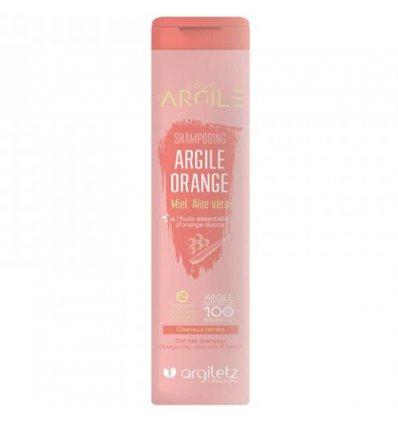 Shampoing Argile Orange Cheveux Ternes - ARGILETZ