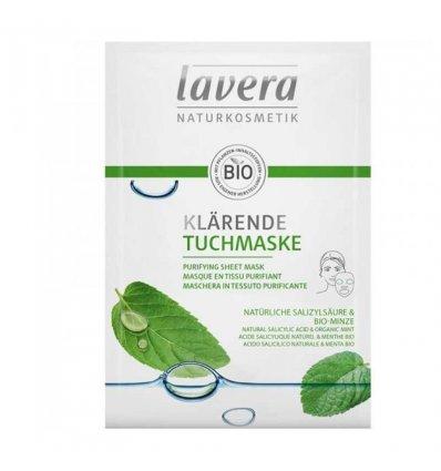 Masque en Tissu Purifiant Bio - LAVERA