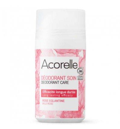 Déodorant Roll-On Rose Eglantine Bio - ACORELLE