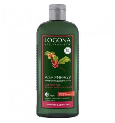 Shampoing à la Caféine Bio Age Energy - Cheveux Fins - LOGONA