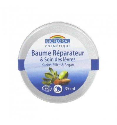 Baume Réparateur Lèvres Karité, Silice et Argan Bio - BIOFLORAL