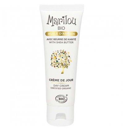 Crème de Jour Huile d'Argan Bio - MARILOU BIO
