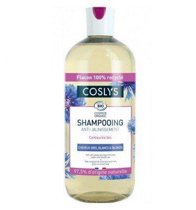 COSLYS - Shampoing Cheveux Blanc Gris...