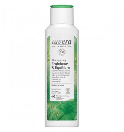 Shampoing Fraîcheur Cheveux Gras Bio - LAVERA