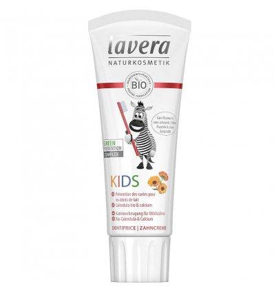 Dentifrice Bio Enfant Calcium et Calendula - LAVERA