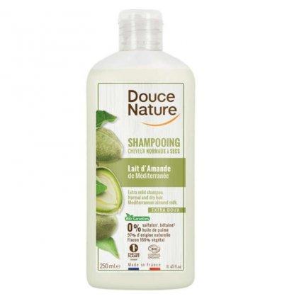 Shampoing Bio Lait d'Amande - Cheveux Normaux à Secs - DOUCE NATURE