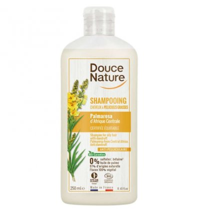 Shampoing Bio Cheveux à Pellicules Grasses - DOUCE NATURE