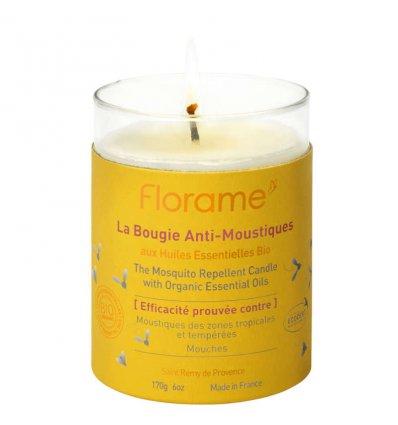 FLORAME - Bougie Anti-Moustique aux...