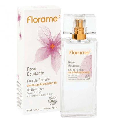 Eau de Parfum Rose Eclatante Bio - FLORAME