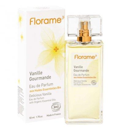 Eau de Parfum Vanille Gourmande Bio - FLORAME