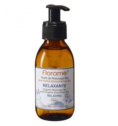 Huile de massage Relaxante Bio - FLORAME