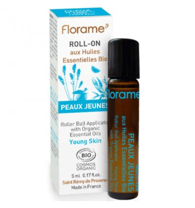 Roll-On Anti-Imperfection aux Huiles Essentielles Bio - FLORAME