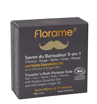 Savon de Rasage du Baroudeur Bio - FLORAME