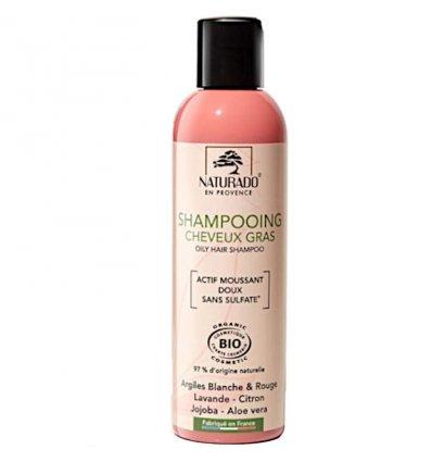 Shampoing Argile Blanche Cheveux Gras Bio - NATURADO