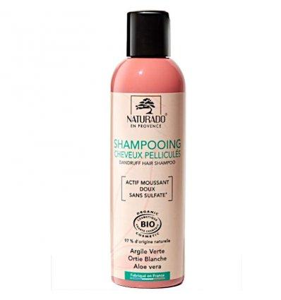 Shampoing Anti-Pelliculaire Argile Verte Bio - NATURADO