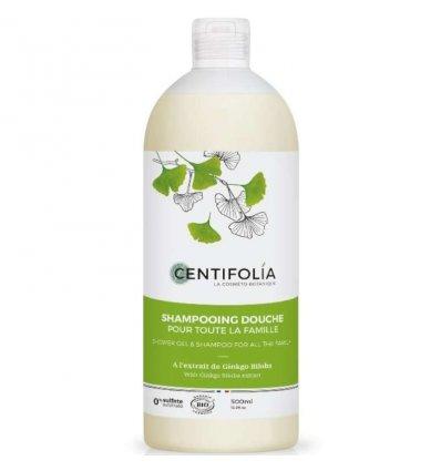Shampoing Douche Bio pour toute la Famille - CENTIFOLIA
