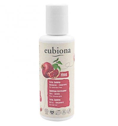 Shampooing Revitalisant Ortie & Grenade Bio - Cheveux Gras - EUBIONA